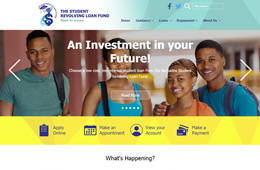 Student Revolving Loan Fund Website